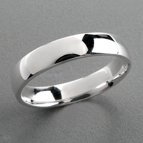 4MM STERLING SILVER BAND