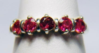 COLORS OF PINK TOURMALINE RING