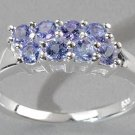 TANZANITE EAST WEST DESIGN RING