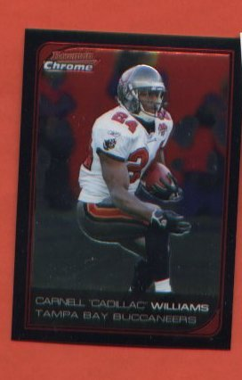 Carnell Cadillac Williams #157 Buccaneers  2006 Bowman Chrome