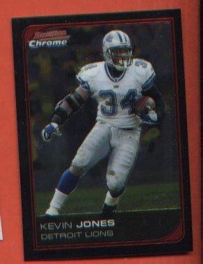 Kevin Jones #131 Detroit Lions 2006 Bowman Chrome