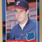 Jack McDowell Rated Rookie #47 White Sox 1988 Donruss