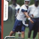 Drew Bledsoe #26 Dallas Cowboys 2006 Upper Deck NFL Foundations