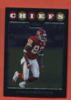 Dwayne Bowe  #TC71 Chiefs 2008 Topps Chrome