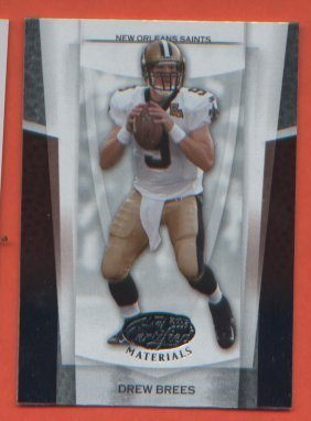Drew Brees #47 SAINTS 2007 Leaf Certified Materials