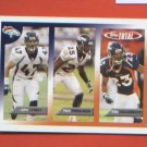 John Lynch Nick Ferguson Willie Middlebrooks #414 2005 Topps Total Denver Broncos