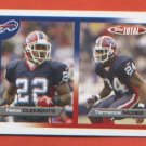 ROOKIES Nate Clements Terrence McGee #136 2005 Topps Total Buffalo Bills