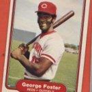George Foster #566 Reds 1982 Fleer