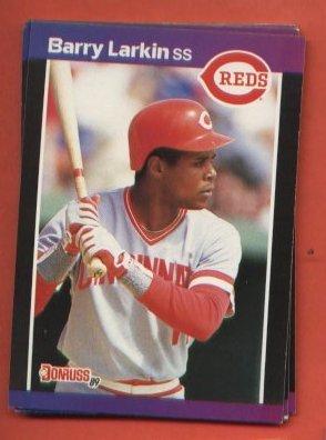Barry Larkin  #257 Reds  1989 Donruss