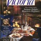 VICTORIA from November 1992 Homeborn Happiness, Thomas Jefferson's recipes