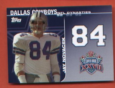 Jay Novacek #DYN-JN Dallas Cowboys 2008 Upper Deck Destinies