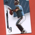 David Garrard #31 2008 SP Authentic JAGUARS