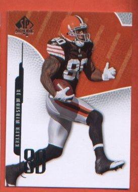 Kellen Winslow Jr #19 BROWNS 2008 SP Authentic