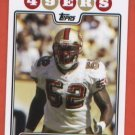 Patrick Willis #330 49ers 2008 Topps Rookie of the Year