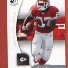 Larry Johnson #43 2005 SP Authentic CHIEFS