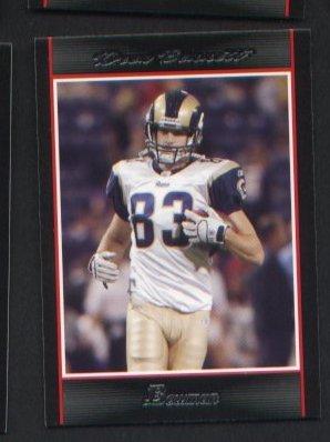 Drew Bennett #108  RAMS 2007 Bowman