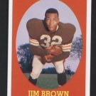 Jim Brown #22 of 22 Cleveland Browns 2007 Topps Turn Back the Clock