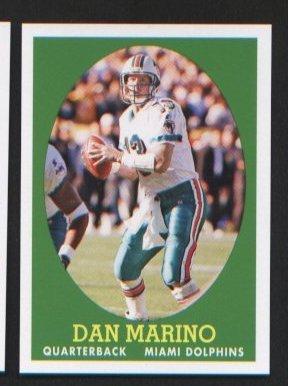 Dan Marino #18 of 22 Miami Dolphins 2007 Topps Turn Back the Clock