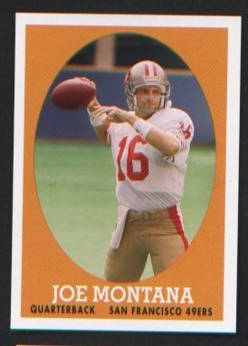 Joe Montana #16 of 22 SF 49ers 2007 Topps Turn Back the Clock