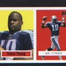 Vince Young # 21 of 22 Titans ROOKIE 2006 Topps Turn Back the Clock