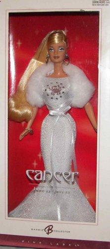 Barbie Zodiac Cancer Blonde Doll  Dated 2004