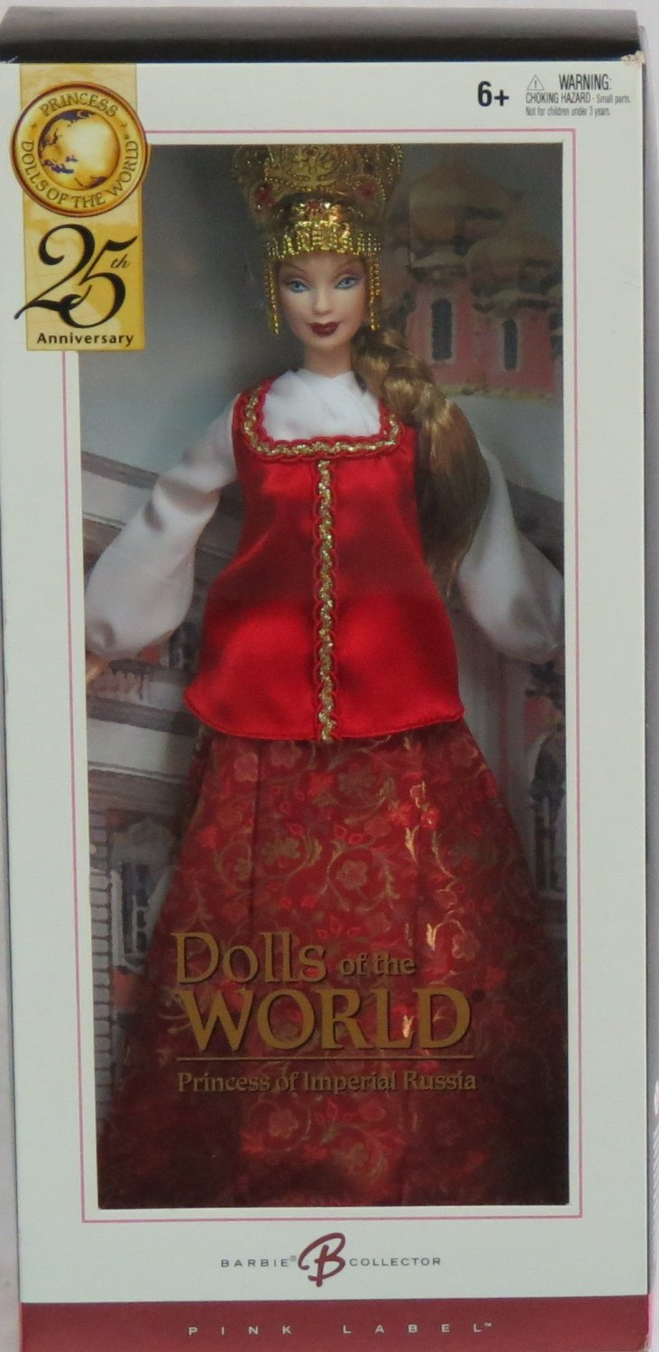 Barbie Dolls of the World Princess of Imperial Russia Doll