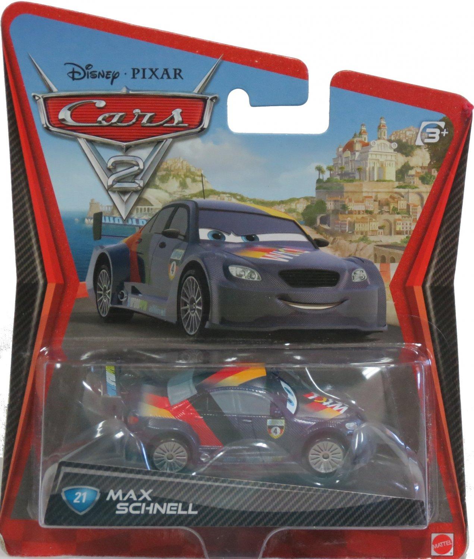 Disney Cars 2 Movie Max Schnell Diecast 1:55