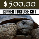 $500 Donation - Scrub-Jay Trail  (Gopher Tortoise Gift)