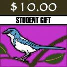 $10 - Donation - Scrub-Jay Trail  (Student Gift)