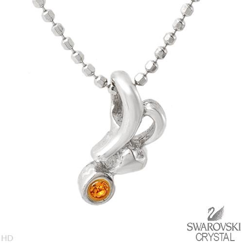 Sterling & Swarovski Necklace