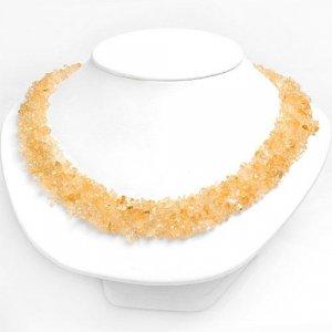 Genuine Citrine Collar Necklace