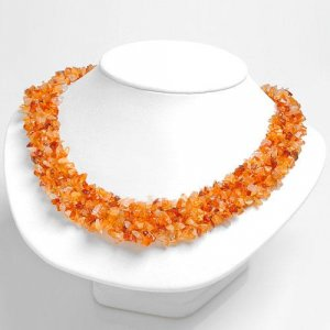 Genuine Agate Collar Necklace