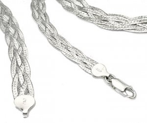 Sterling Silver Woven Box Bracelet