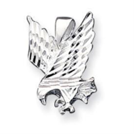 Sterling Silver Sm. DC Eagle Pendant