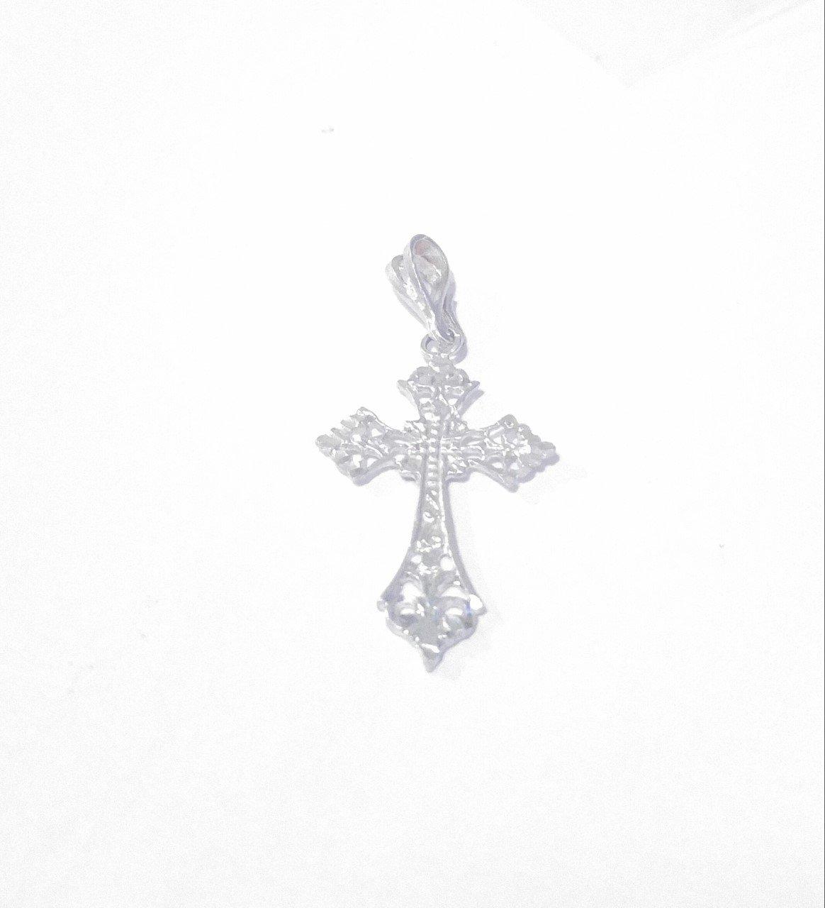 Sterling Silver Filigree Cross
