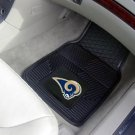 ST LOUIS RAMS CAR MATS TRUCK AUTO GAME RUG FREE SHIPPIN