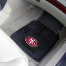 SAN FRANCISCO 49ERS CAR MATS TRUCK GAME RUG FREE SHIP