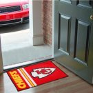 KANSAS CITY CHIEFS NFL UNIFORM MAT JERSEY RUG FREE SHIP