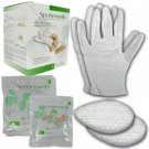 SpaSensials Beauty Spa Hand Skin Moisturizer Gloves Set
