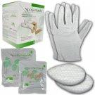 SpaSensials Beauty Spa Hand Skin Moisturizer Gloves Set