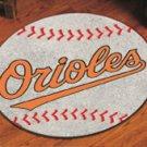 BALTIMORE ORIOLES BASEBALL TEAM MLB AREA RUG GAME MAT