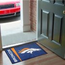 DENVER BRONCOS TEAM UNIFORM RUG JERSEY MAT FREE SHIPP