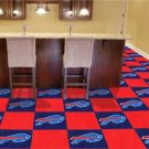 BUFFALO BILLS NFL FOOTBALL CARPET GAME RUG FLOOR TILE