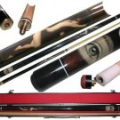 Hot Sexy Naked Nude Lady Woman Babe Billiard GameTable Cue Ball Pool Stick Case