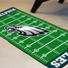 PHILADELPHIA EAGLES TEAM FIELD RUG GAME MAT FREE SHIPP