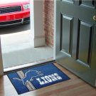 DETROIT LIONS UNIFORM RUG JERSEY MAT NEW FREE SHIP