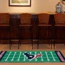 HOUSTON TEXANS FOOTBALL FIELD RUG GAME MAT FREE SHIP