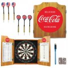 COCA COLA COKE SODA POP AD DART BOARD GAME FREE SHIPPIN