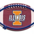 UNIVERSITY ILLINOIS FIGHTING ILLINI NEON GAME FOOTBALL