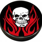 TRIBAL FLAME SKULL BIKER BAR STOOL PUB CHAIR FREE SHIPP